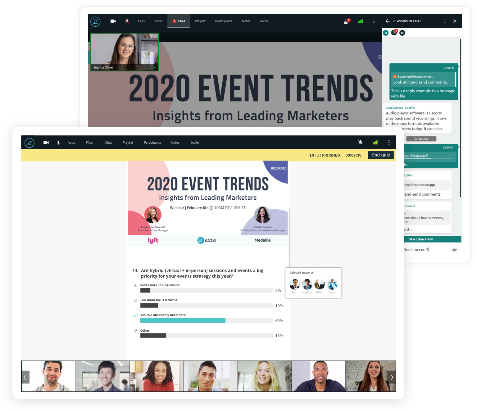 Virtual Experience Solution - Attendee Engagement