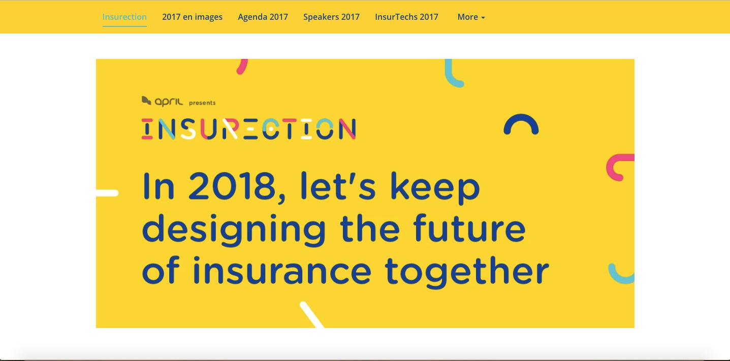 Insurection's event website