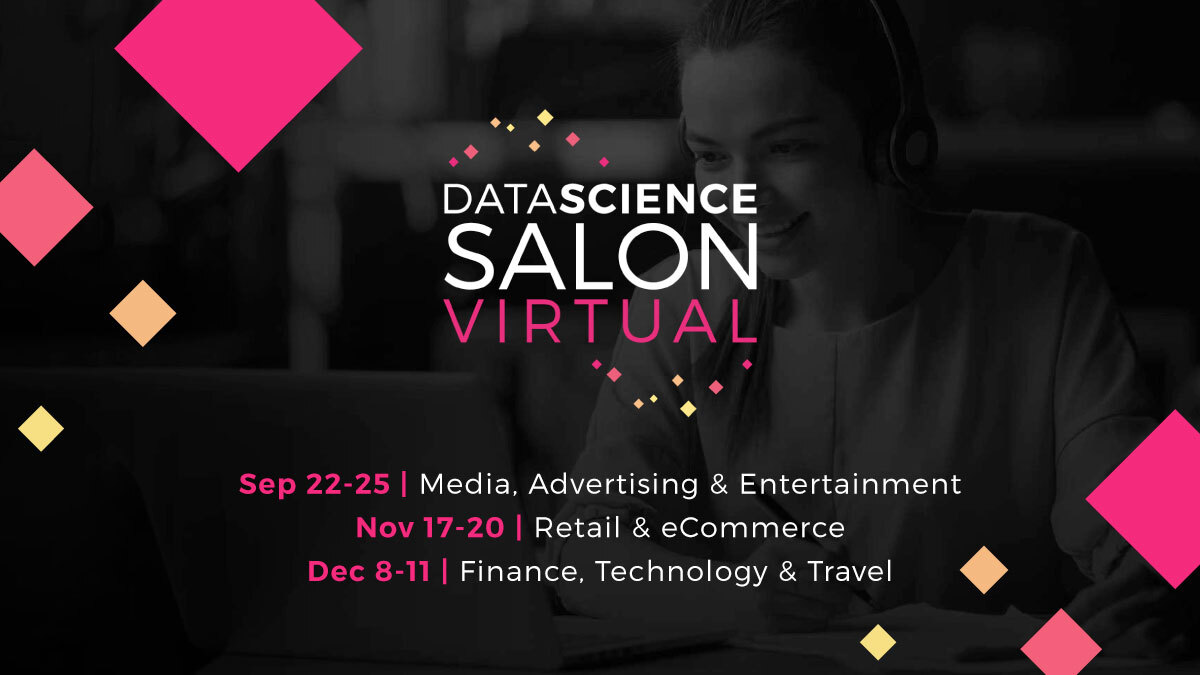 Data Science Salon Virtual - Machine Learning Conferences