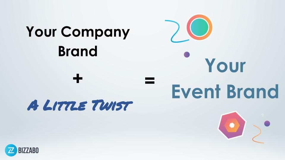 The event branding recipe.