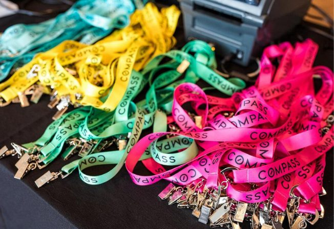 Event Lanyards - Compass Case Study