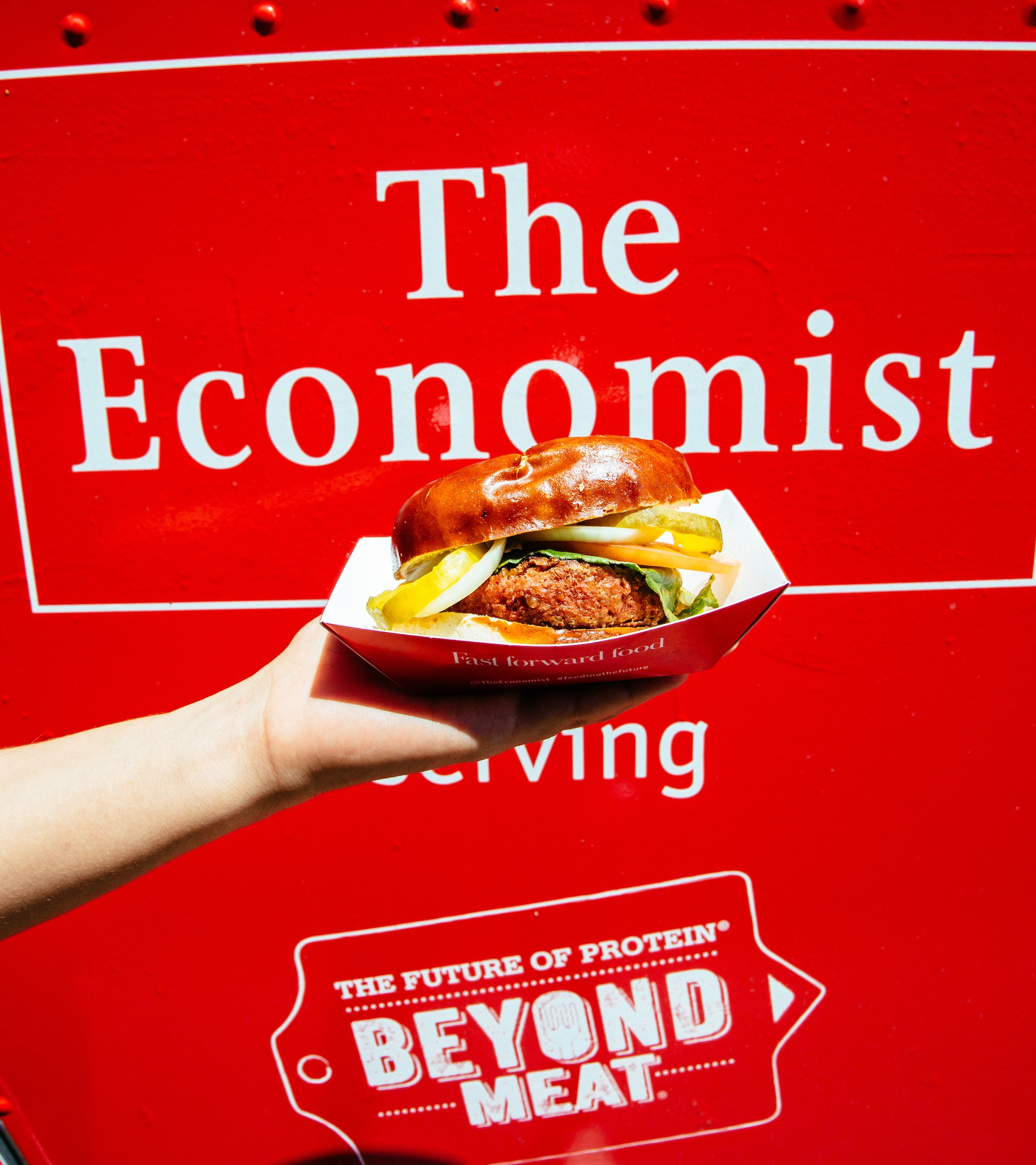 Example of experiential marketing from The Economist