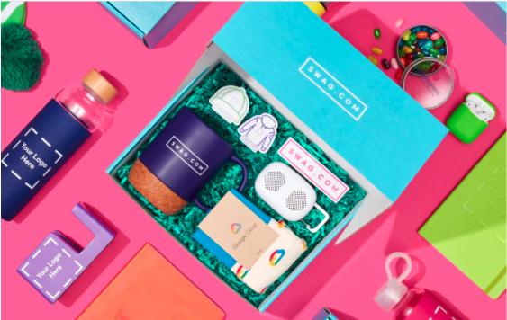 swag box - virtual gift ideas