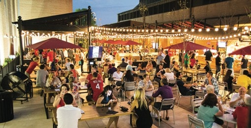 Biergarden Anheuser-Busch - St. Louis Event Venues