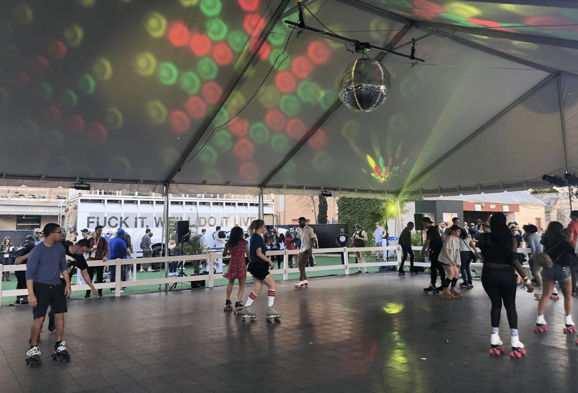 Viceland's Pop-Up Rollerskating Party - Vice Event Marketing