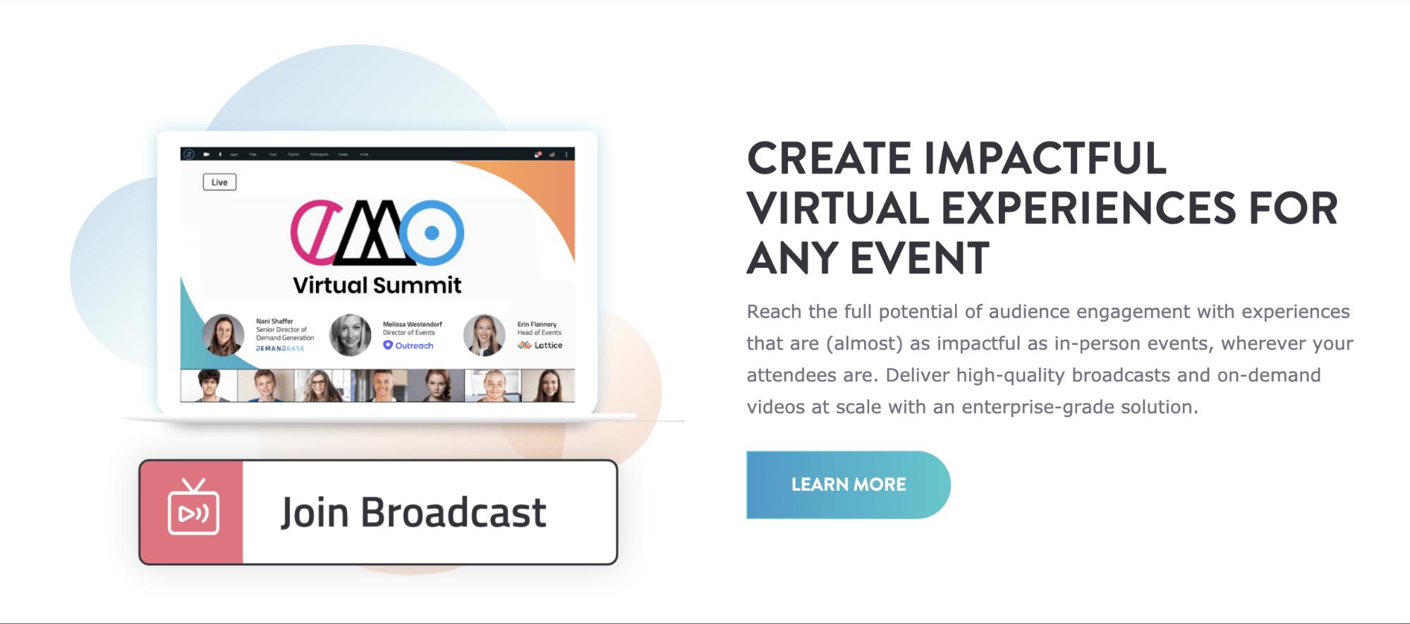Bizzabo - Virtual event tools