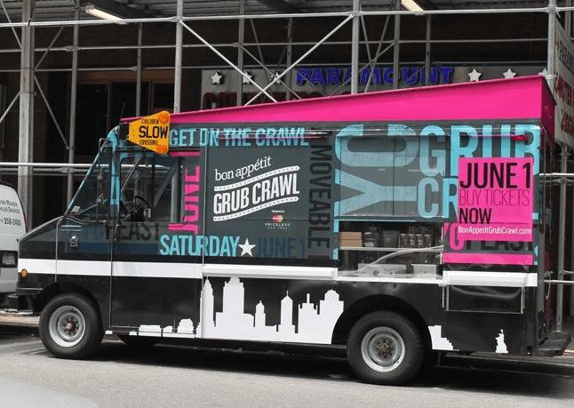 Grub Crawl - Bon Appetit Event Marketing