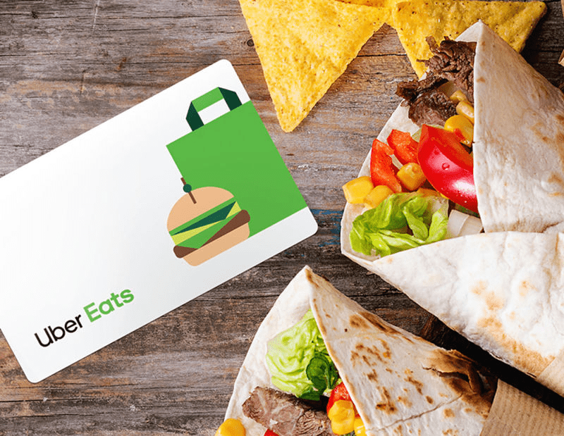 Food Deliver Voucher - virtual gift ideas