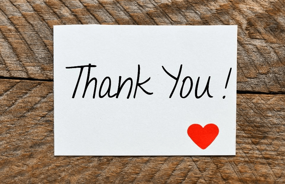Personalized Thank You Card - virtual gift ideas