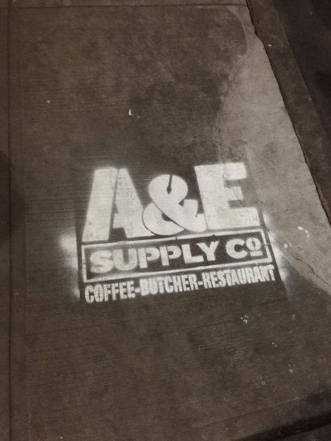 A&E Supply Co. Graffiti Logos - Guerilla Marketing Examples