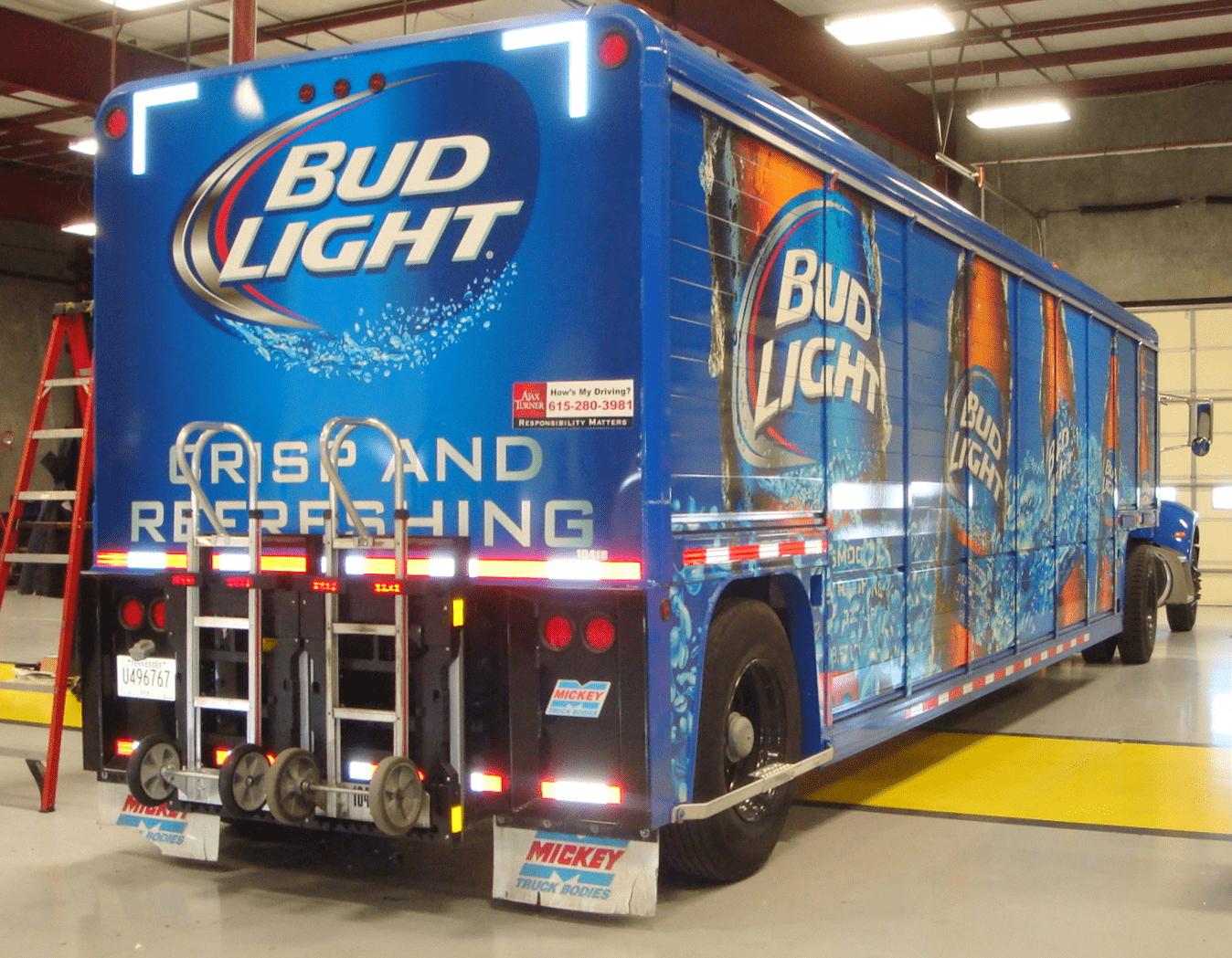 Bug Light Free Beer - Guerilla Marketing Examples