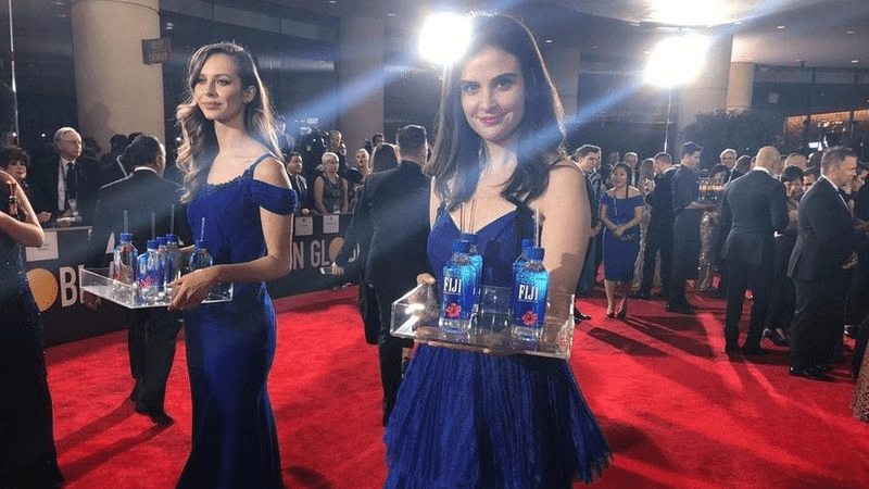 Fiji Water - Guerilla Marketing Examples