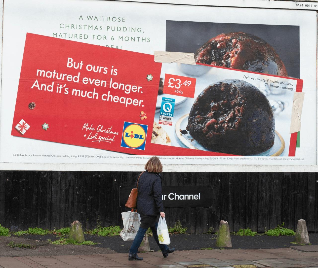 Lidl - Guerilla Marketing Examples