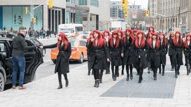 Red Sparrow - Guerilla Marketing Examples