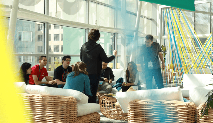 DockerCon - Introvert inclusive networking