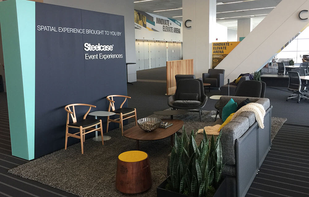 Braindate Lounge example - Introvert inclusive networking