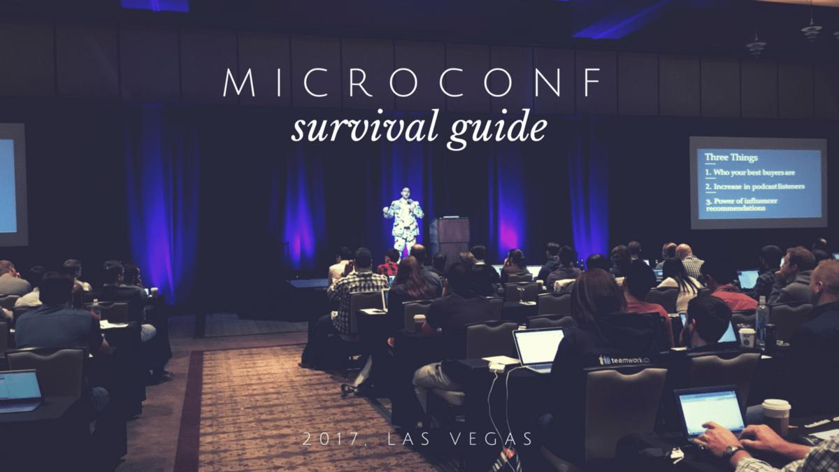 MicroConf - SaaS Conferences